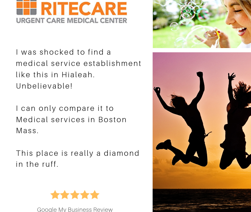 RiteCare in our Patients' reviews… :)